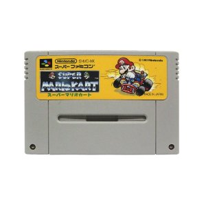 Jogo Super Mario Kart - SNES (Japonês)