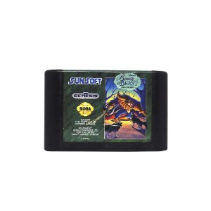 Jogo Disney's Beauty and the Beast: Roar of the Beast - Mega Drive