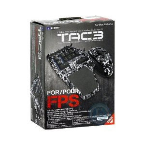 Mouse e Teclado Hori Tactical Assault Commander 3 com fio - PS3
