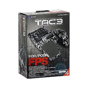 Mouse e Teclado Hori Tactical Assault Commander 3 com fio - PS3