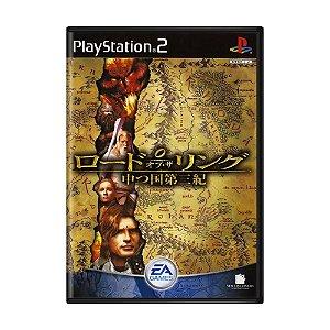 Jogo Lord of the Rings: Nakatsu Kuni Daisanki - PS2 (Japonês)