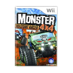 Jogo Monster 4x4: Stunt Racer - Wii