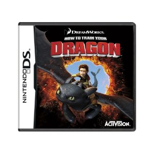 Jogo How to Train Your Dragon - DS