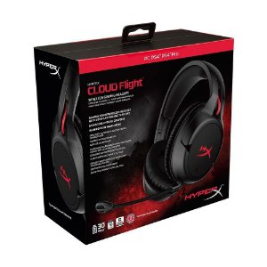 Headset Gamer HyperX Cloud Flight sem fio - Multiplataforma
