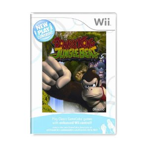 Jogo New Play Control! Donkey Kong Jungle Beat - Wii