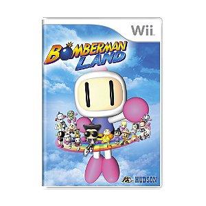 Jogo Bomberman Land - Wii
