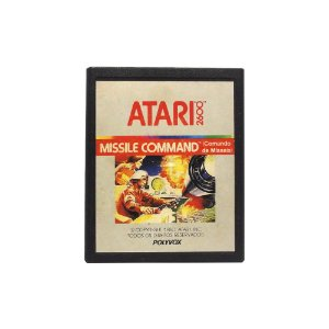 Jogo Missile Command - Atari