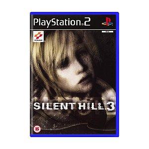 Jogo Silent Hill 3 - PS2 (Europeu)