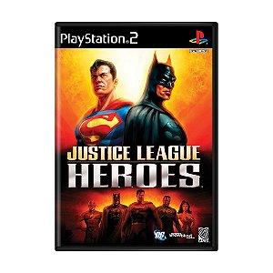 Jogo Justice League Heroes - PS2