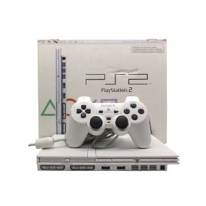 Console PlayStation 2 Slim Branco - Sony