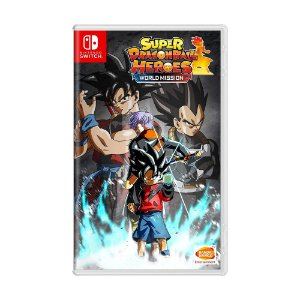 Jogo Super Dragon Ball Heroes: World Mission - Switch