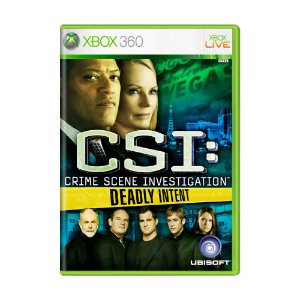 Jogo CSI: Crime Scene Investigation: Deadly Intent - Xbox 360