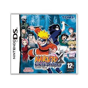 Jogo Naruto: Ninja Destiny - DS (Europeu)