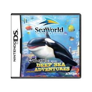 Jogo Sea World: Shamu's Deep Sea Adventures - DS