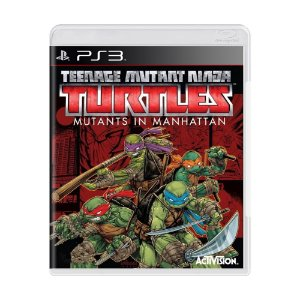 Jogo Teenage Mutant Ninja Turtles: Mutants in Manhattan - PS3