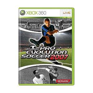 Jogo Winning Eleven: Pro Evolution Soccer 2007 - Xbox 360