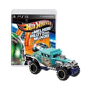 Jogo Hot Wheels: O Melhor Piloto do Mundo + Carrinho Baja Bone Shaker - PS3
