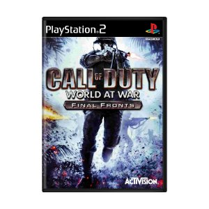 Jogo Call of Duty: World at War Final Fronts - PS2