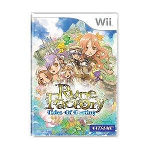 Jogo Rune Factory: Tides of Destiny - Wii