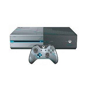 Console Xbox One FAT 1TB (Edição Halo 5: Guardians) - Microsoft