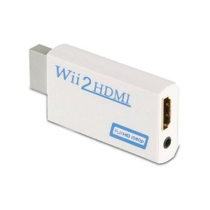 Conversor Wii2HDMI Branco - Wii