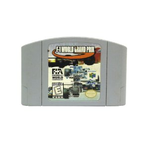 Jogo F-1 World Grand Prix - N64