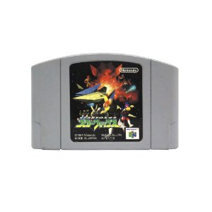 Jogo Star Fox 64 - N64 (Japonês)