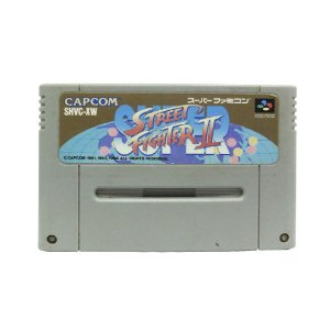 Jogo Super Street Fighter II: The New Challengers - SNES (Japonês)