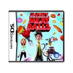 Jogo Cloudy With a Chance of Meatballs - DS