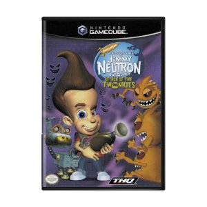 Jogo The Adventures of Jimmy Neutron Boy Genius: Attack of the Twonkies - GameCube