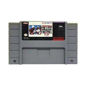 Jogo Bill Walsh College Football - SNES