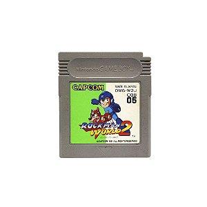 Jogo RockMan World 2 - GBC (Japonês)
