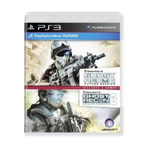 Jogo Tom Clancy's Ghost Recon: Future Soldier + Tom Clancy's Ghost Recon Advanced Warfighter 2 - PS3