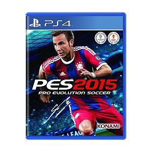 Jogo Pro Evolution Soccer 2015 - PS4