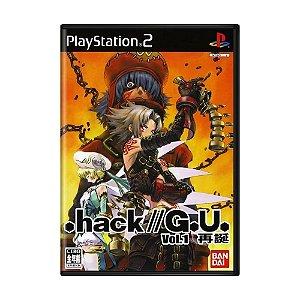 Jogo .hack//G.U. Vol. 1: Saitan - PS2 (Japonês)