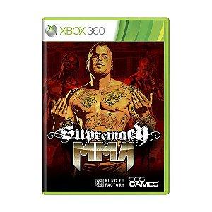 Jogo Supremacy MMA - Xbox 360