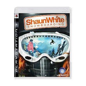 Jogo Shaun White Snowboarding - PS3