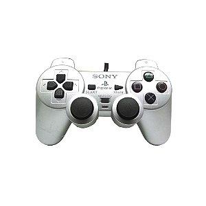 Controle Sony Dualshock 2 Prata - PS2