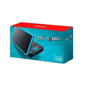 Console New Nintendo 2DS XL Preto e Turquesa - Nintendo