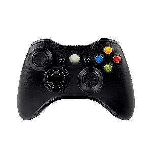 Controle Paralelo Preto sem fio - Xbox 360