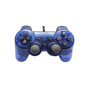 Controle Sony Dualshock 2 Azul - PS2