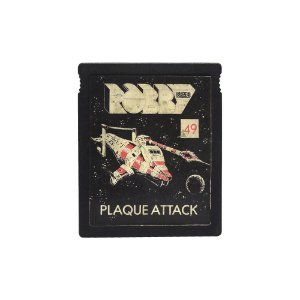 Jogo Plaque Attack - Atari