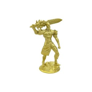 Boneco Kratos Dourado GOD OF WAR (Espada de Olympus) - Top Cau