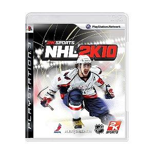 Jogo NHL 2K10 - PS3