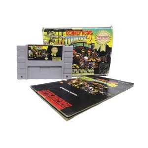 Jogo Donkey Kong Country 2: Diddy's Kong Quest - SNES