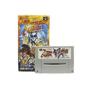 Jogo Battle Master: Kyuukyoku no Senshitachi - SNES (Japonês)