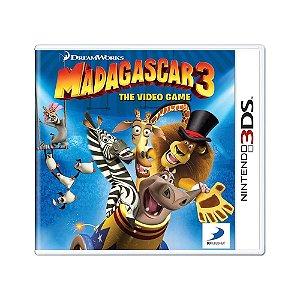 Jogo DreamWorks Madagascar 3: The Video Game - 3DS