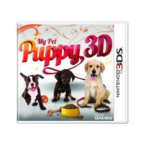 Jogo My Pet Puppy 3D - 3DS