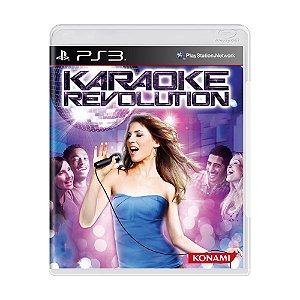 Jogo Karaoke Revolution - PS3
