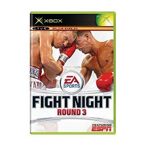 Jogo Fight Night Round 3 - Xbox